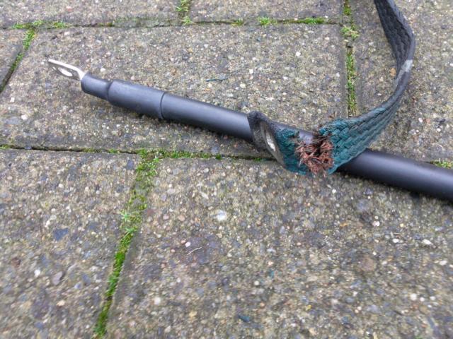 Masseband defekt -